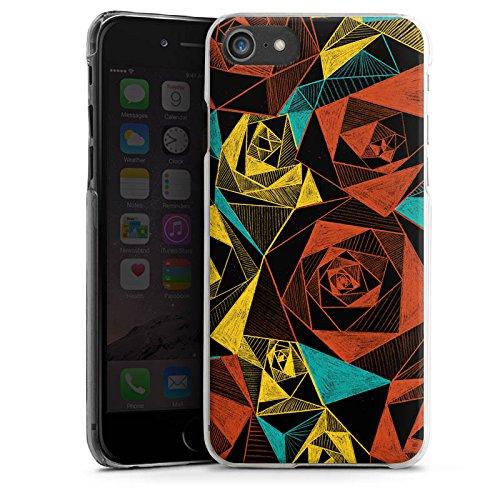 Apple iPhone X Silikon Hülle Case Schutzhülle Rosen Muster Rose Hard Case transparent