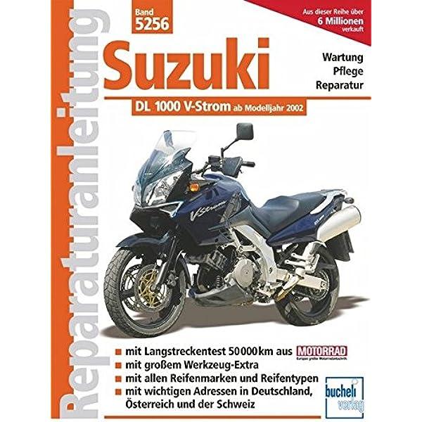 Suzuki 1000 V Strom Wartung Pflege Reparatur Reparaturanleitungen Schermer F J Bücher
