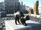 Katze aus Bronze, GROß, mit Buckel