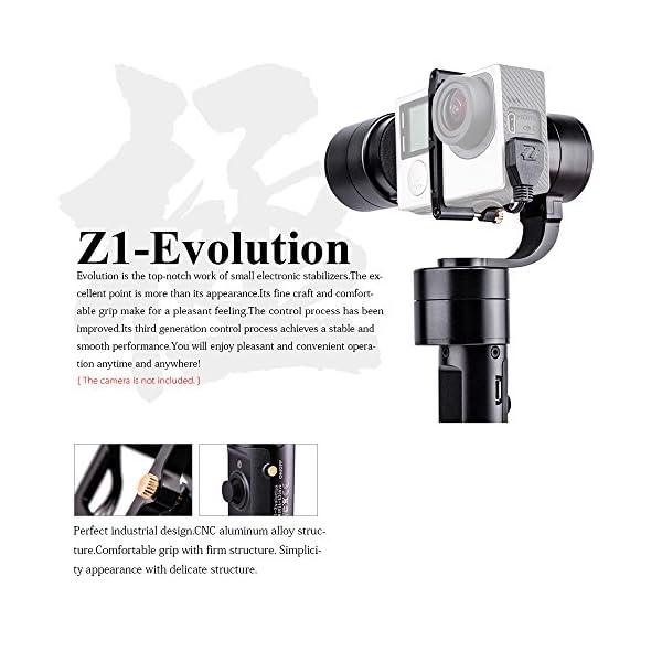 Zhiyun New Version Z1- Evolution 3-Axis Handheld Stabilizer Brushless Gimbal for GoPro Hero 4 3+ 3 2 SJ4000 SJ5000 Sport Cameras 2 spesavip