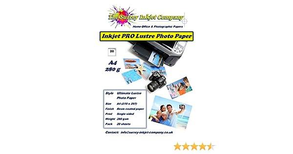 A3 Matt Coated Inkjet Paper 180gsm 100 sheets Photo Quality Matte Media FSC