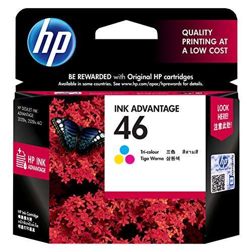 HP 46 Tri Color Ink Advantage Cartridge