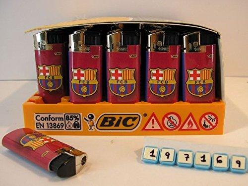 BIC Encendedor Electronico FC Barcelona 6,5cm