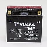Batería 12V 12Ah yt14b de BS, libre de mantenimiento Yuasa DIN 51293para Yamaha BT 1100Bulldog rp051| Yamaha BT 1100Bulldog rp052| Yamaha FJR 1300Rp04| Yamaha FJR 1300A ABS | Yamaha FJR 1300A ABS RP08| Yamaha FJR 1300A ABS RP11| Yamaha FJR 1300A ABS RP13