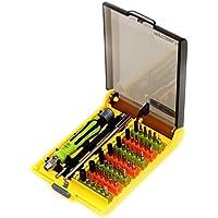 Kit di riparazione, 45 in 1 cacciavite di precisione con assortiti bit / Extension / Pinze