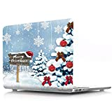 BestcatgfitM [Christmas Series] Hard Shell Hülle with Keyboard Cover für MacBook Pro 13 Inch with Retina Display No CD-Rom (A1502/A1425,Version 2015/2014/2013/end 2012) - G
