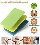 [3 Pack] reutilizable Sunshot – Canillera tarjeta DIY hacer o fijación puede forma a cualquier forma reparar todo tipo de cosas, arreglar cosas en situación de emergencia (3pcs (Blue Green Yellow))