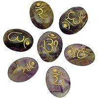 Harmonize Lila 7 Chakra Reiki Kristall Symbol Amethyst Stein Spirituelle Geschenk-Energie-Generator preisvergleich bei billige-tabletten.eu