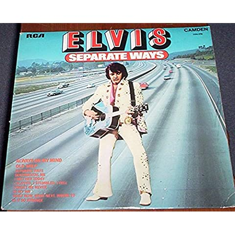 Elvis Presley Seperate Ways CDS 1118 rare 12 inch 33 rpm LP Vinyl Album Record - see pictures for all titles
