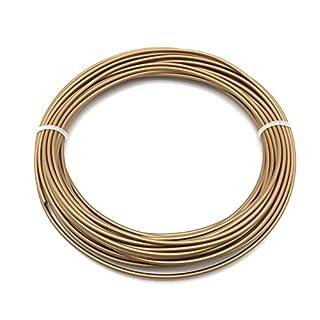 AptoFun Metal- Red-Copper Filament (1,75mm, 25g, 190°C - 230°C) mit Premium Qualität für 3D Drucker MakerBot RepRap MakerGear Ultimaker uvm/ auch für 3D-Stifte