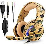 Phoinkas Gaming Headset with 3.5mm Plug for Xbox...