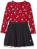 s.Oliver Mädchen Kleid 53.808.82.2845, Rot (Dark Red AOP 31a0), 128
