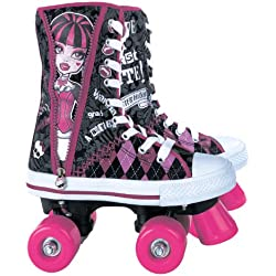 Monster High MO130352 - Patines de bota infantiles (talla 36)