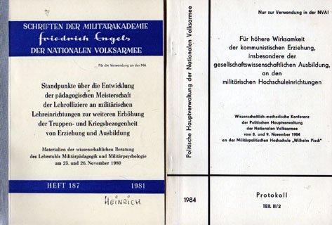 MA Friedrich Engels Konvolut 5 Broschüren NVA