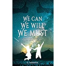 Image result for we can we will and we must by U saranya book review