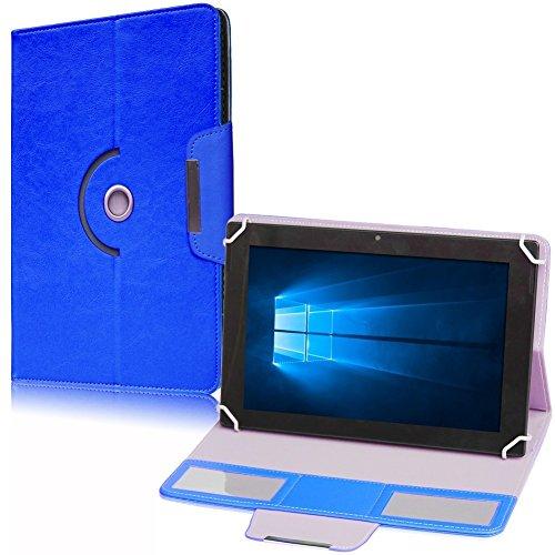 UC-Express Hülle für TrekStor SurfTab Breeze 9.6 Quad Tablet Tasche Schutzhülle Case Cover, Farben:Blau
