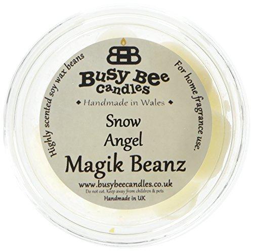 Scheda dettagliata Busy Bee Candles Snow Angel Magik Beanz, Colore: Bianco, Confezione da 6