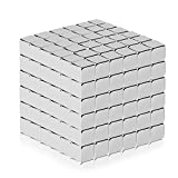 #2: Fancyku Magnetic Cube (4MM Set of 216 Cubes) Magnetic Sculpture Desk Toys for Intelligence Development and Stress Relief