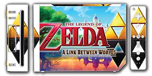 Legend of Zelda Link A Link Between Worlds Triforce Video Game Vinyl Decal Skin Sticker Cover for the Nintendo Wii System Console by Vinyl Skin Designs