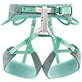Petzl Unisex– Erwachsene Harness MEDIUM Damen Klettergurt Selena Blau/Grau M, Mehrfarbig, M