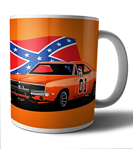 The Dukes of Hazzard - General Lee TV Series Mug