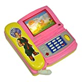 #1: OTE Musical Cartoon Phone with Light Musical Telephone Cartoon moving screen - Multi Color