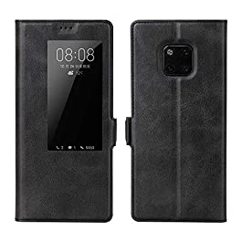 CRESEE Mate 20 Pro Case, Smart Flip Cover