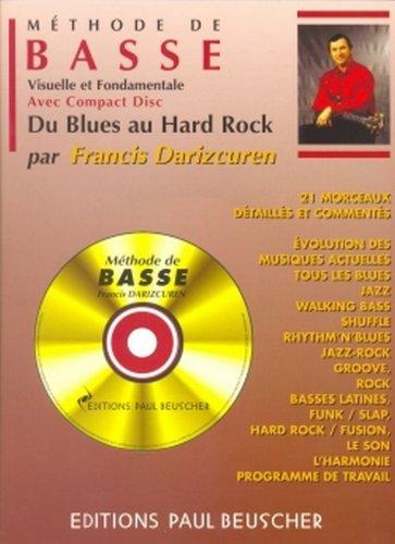 Partition : Methode de guitare basse F. Darizcuren...