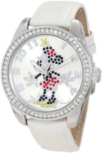 Disney Minnie White 25741 - Orologio da polso Ragazza