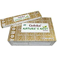 Räucherstäbchen 180g Goloka Nature's Nest Incense Wohnacessoire Deko Raumduft preisvergleich bei billige-tabletten.eu