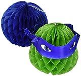 Amscan International 291194Teenage Mutant Ninja Turtles Honeycomb Dekorations-Set