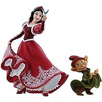 Disney Showcase Christmas Snow White & Dopey Figurine, Multi-Colour