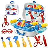 #10: Magicwand Pretend Carry Along Doctor Play Set for Boys and Girls- 24 Pieces