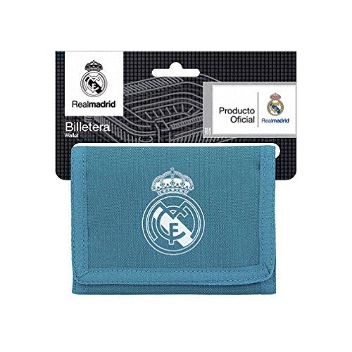 Safta Cartera Billetera Oficial Real Madrid 3ª Equip. 17/18 125x95mm