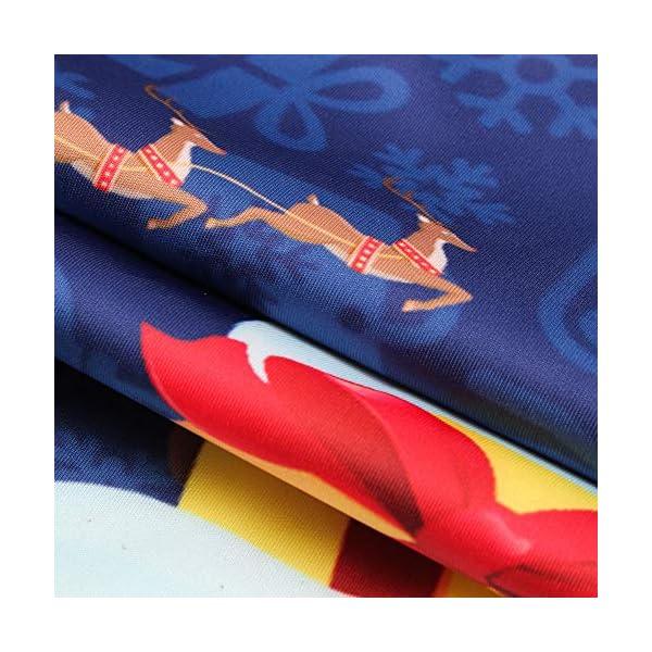 friendGG❤️❤️ Herren Herbst Winter Weihnachtspullover mit 3D Weihnachtsmotiv Hoodie Casual Unisex Kapuzenjacke Christmas Sweatshirt Kapuzenpullover Outwear Lässiger Langarm Tops Jumper