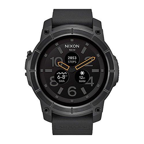 Nixon Mission Smart Watch All Black