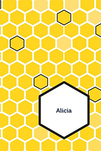 Etchbooks Alicia, Honeycomb, Wide Rule