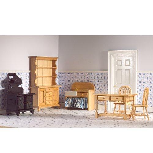 Dolls House 5966 tradizionale Cucina 6 pezzi 1:12 per casa delle bambole