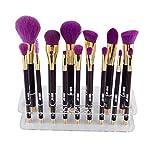 15-Loch Make-up Pinselhalter Trockner Rack Organizer Makeup Bürstenhalter Schminkpinsel Lufttrockengestell Halterung für Kosmetik Pinsel / Zahnbürsten Molie