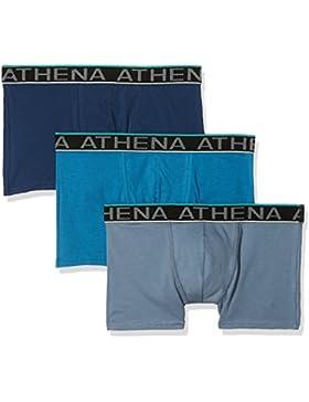 Athena Easy Chic - Boxers para hombre, paquete de 3