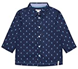 ESPRIT KIDS Baby-Jungen Hemd RL1201202, Blau (Marine Blue 446), 74
