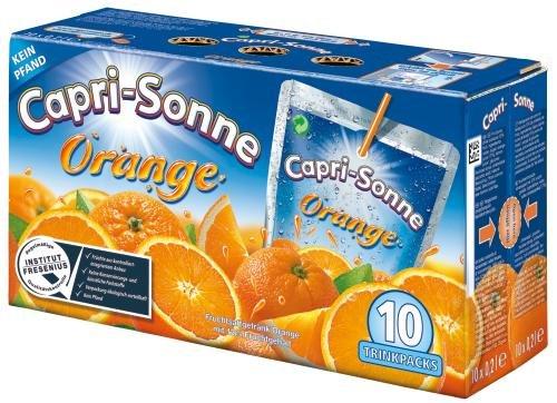 Capri Sonne Orange, 4er Pack (4 x 10X0,2 l Packung)