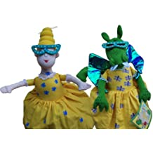 The Library Dragon Flip Doll