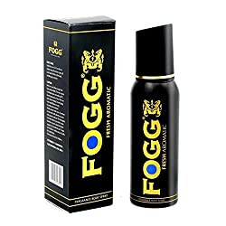 Fogg Fresh Aromatic Black Series For Men, 150ml