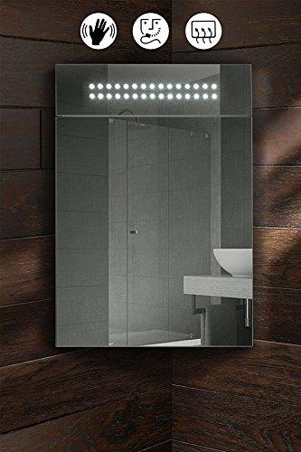 Eckspiegelschrank Bad mit Sensor, Antibeschlag etc.