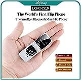 SKYSHOP Long-CZ-J9 World's Smallest Flip Mini Keypad Cell Phone with Bluetooth Dialer