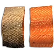 The Upper Scale Ltd Salmon portions skin on scaled 2 X 160g