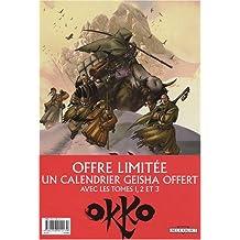 Okko : Pack en 3 volumes Le cycle de l'eau : Tomes 1 et 2 ; Le cycle de la terre, Tome 1 : Avec calendrier Geisha offert
