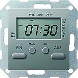 Gira 038520 Zeitschaltuhr Gira E22 Edelstahl
