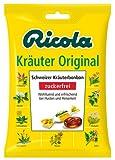 6x Ricola - Schweizer Kräuterzucker Original - 75g